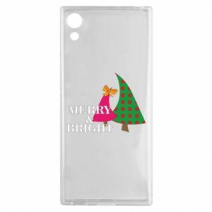 Sony Xperia XA1 Case Merry and Bright