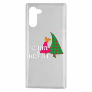Samsung Note 10 Case Merry and Bright