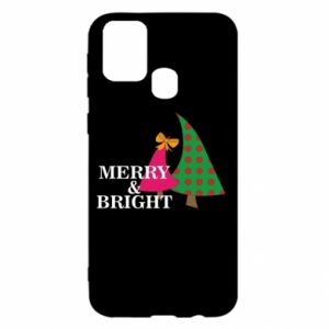 Samsung M31 Case Merry and Bright
