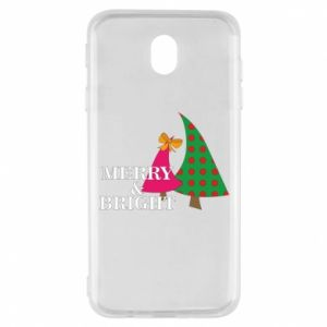 Samsung J7 2017 Case Merry and Bright