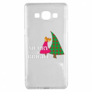 Samsung A5 2015 Case Merry and Bright