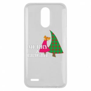 Lg K10 2017 Case Merry and Bright