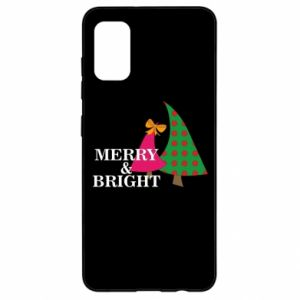 Samsung A41 Case Merry and Bright