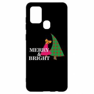 Samsung A21s Case Merry and Bright