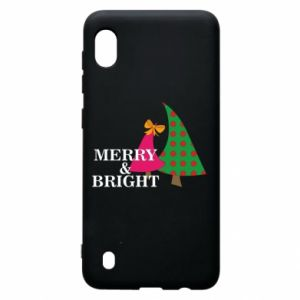 Samsung A10 Case Merry and Bright
