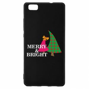 Huawei P8 Lite Case Merry and Bright