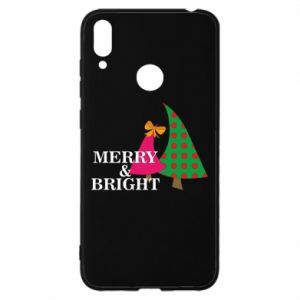 Etui na Huawei Y7 2019 Merry and Bright