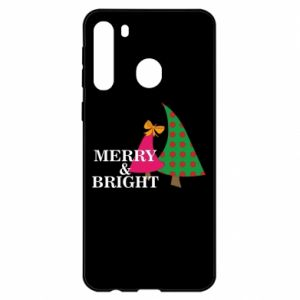 Etui na Samsung A21 Merry and Bright