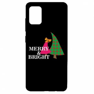Etui na Samsung A51 Merry and Bright
