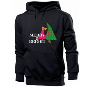 Men's hoodie Merry and Bright