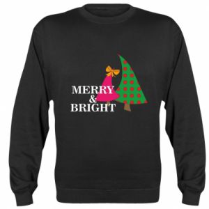 Sweatshirt Merry and Bright
