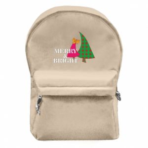 Backpack with front pocket Merry and Bright