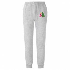 Męskie spodnie lekkie Merry and Bright