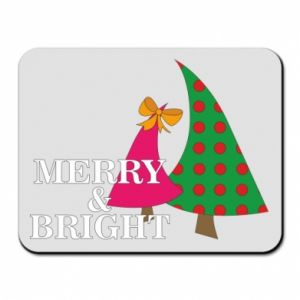 Mouse pad Merry and Bright