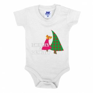 Baby bodysuit Merry and Bright