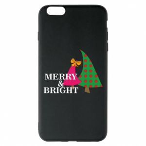 Phone case for iPhone 6 Plus/6S Plus Merry and Bright