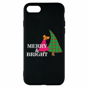 Phone case for iPhone 7 Merry and Bright