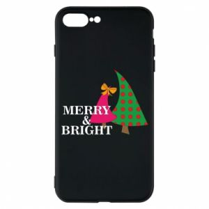 Phone case for iPhone 7 Plus Merry and Bright