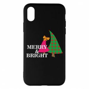 Phone case for iPhone X/Xs Merry and Bright