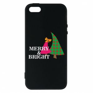 Phone case for iPhone 5/5S/SE Merry and Bright