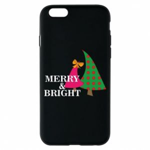 Phone case for iPhone 6/6S Merry and Bright