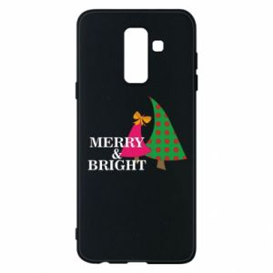 Phone case for Samsung A6+ 2018 Merry and Bright