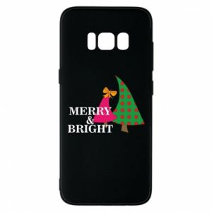 Phone case for Samsung S8 Merry and Bright