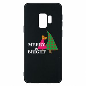 Phone case for Samsung S9 Merry and Bright