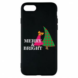 Phone case for iPhone 8 Merry and Bright