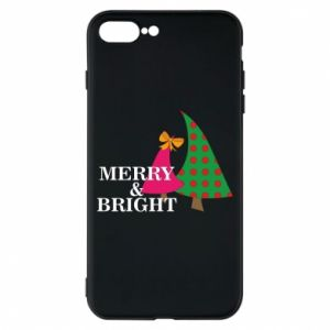 Phone case for iPhone 8 Plus Merry and Bright