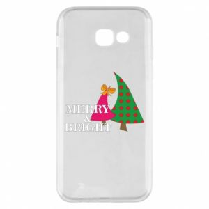 Phone case for Samsung A5 2017 Merry and Bright