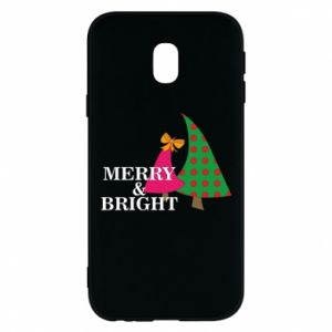 Phone case for Samsung J3 2017 Merry and Bright