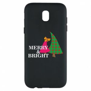 Phone case for Samsung J5 2017 Merry and Bright