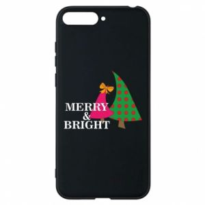 Phone case for Huawei Y6 2018 Merry and Bright