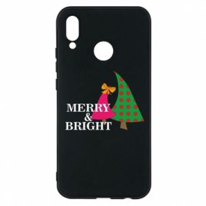 Phone case for Huawei P20 Lite Merry and Bright
