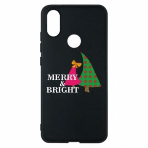 Phone case for Xiaomi Mi A2 Merry and Bright
