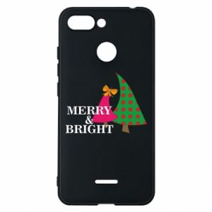 Phone case for Xiaomi Redmi 6 Merry and Bright