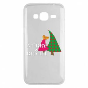 Phone case for Samsung J3 2016 Merry and Bright