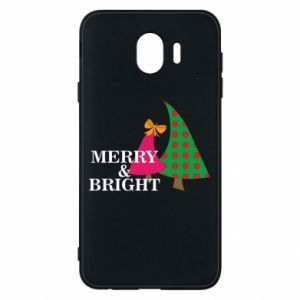 Phone case for Samsung J4 Merry and Bright