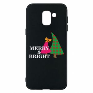 Phone case for Samsung J6 Merry and Bright