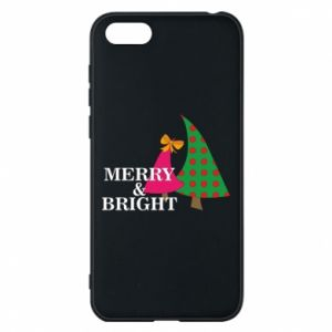 Phone case for Huawei Y5 2018 Merry and Bright