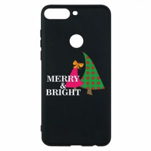 Phone case for Huawei Y7 Prime 2018 Merry and Bright