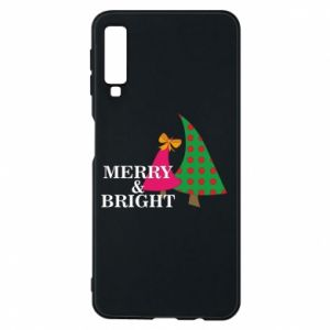 Phone case for Samsung A7 2018 Merry and Bright