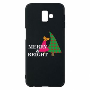 Phone case for Samsung J6 Plus 2018 Merry and Bright