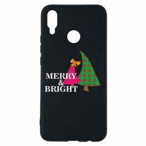 Phone case for Huawei P Smart Plus Merry and Bright