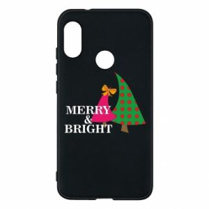 Phone case for Mi A2 Lite Merry and Bright
