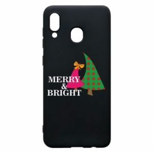 Phone case for Samsung A20 Merry and Bright