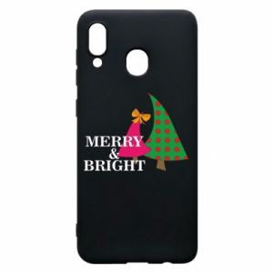 Phone case for Samsung A30 Merry and Bright