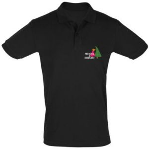 Men's Polo shirt Merry and Bright