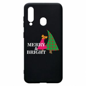 Phone case for Samsung A60 Merry and Bright